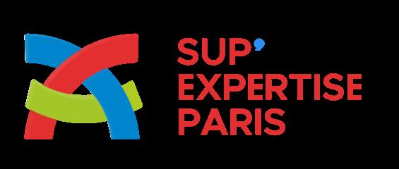 logo complet avec pictogramme Sup'Expertise Paris